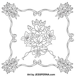 I Create Quilt Embroidery Block Design Patterns